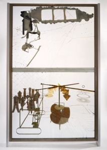 Marcel Duchamp, The Bride Stripped Bare by her Bachelor's Even