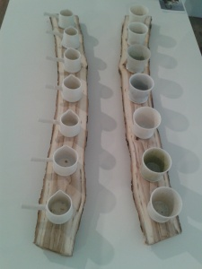 Steven Will's delightful porcelain vessels.