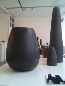 Tania McCallin's massive yet beautiful vessels.