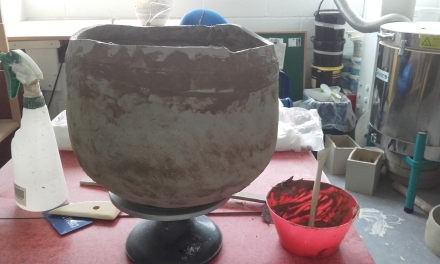 grogged porcelain